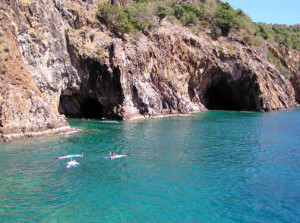 Caves - Norman Island